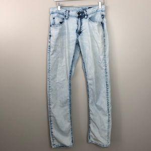 David Bitton Buffalo light wash denim jeans ASH-X